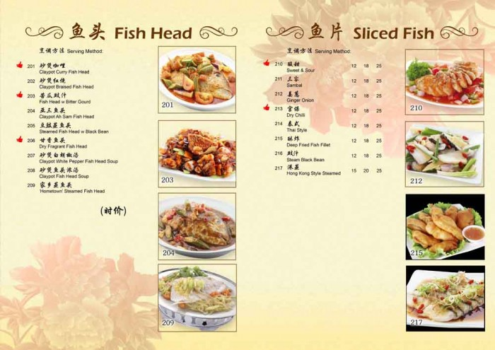 78KPT 2014 CNY Fish Head Menu by Phocept