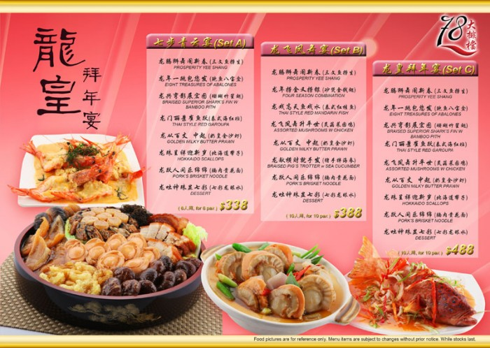 78 KPT Food Menu 2011 by Phocept