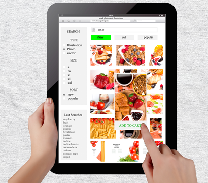Electronic Content Menu Ordering by Phocept