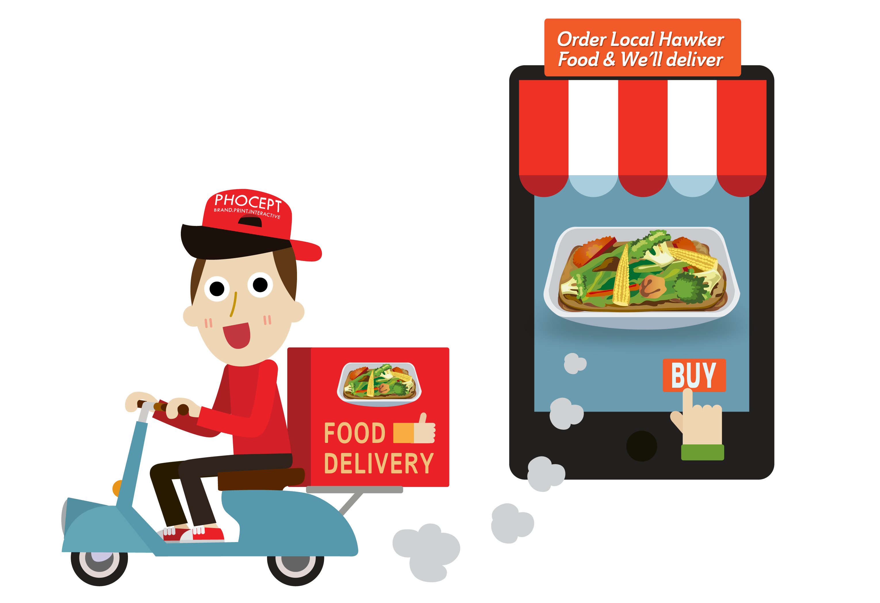 Increasing Food Delivery
