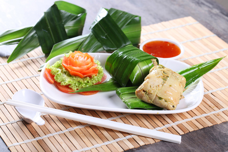 Chicken Pandan Leaf Conceptualize Shoot by Phocept