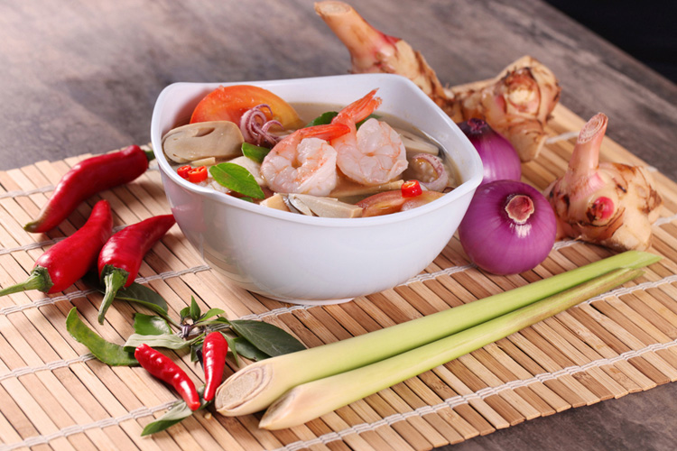 Tom Yum Soup Conceptualize Shoot by Phocept