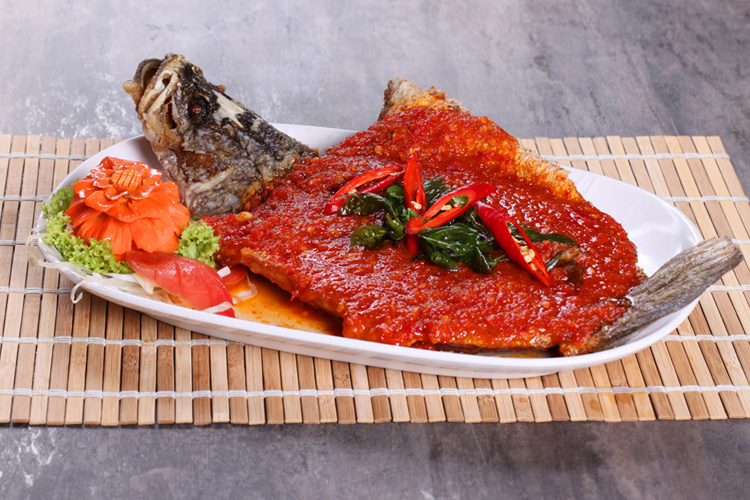 Deep Fried Fish w Sambal Conceptualize Shoot by Phocept