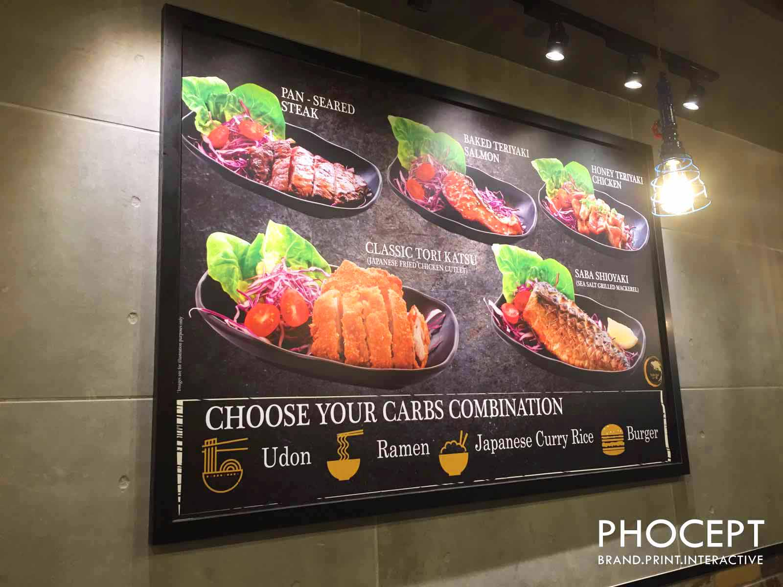 Retail Food Poster by Phocept