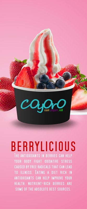 Berrylicious 15in x 36in Conceptualize by Phocept