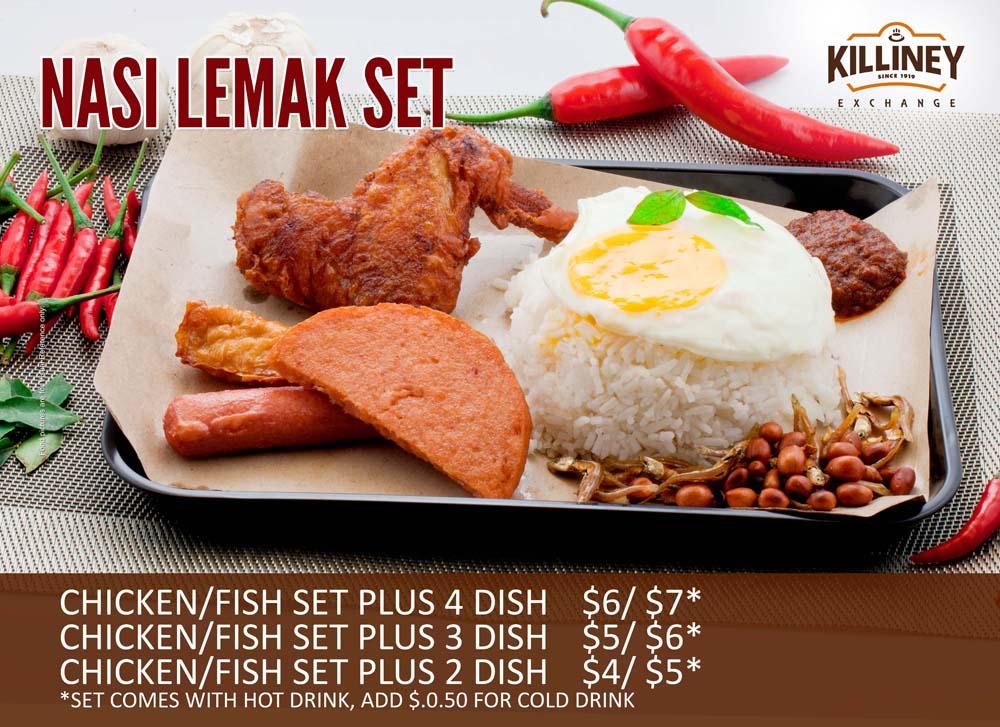 Nasi Lemak Set Meal by Phocept
