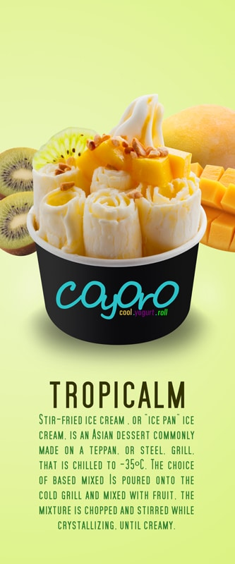 Tropicalm Poster 15in x 36in Conceptualize by Phocept
