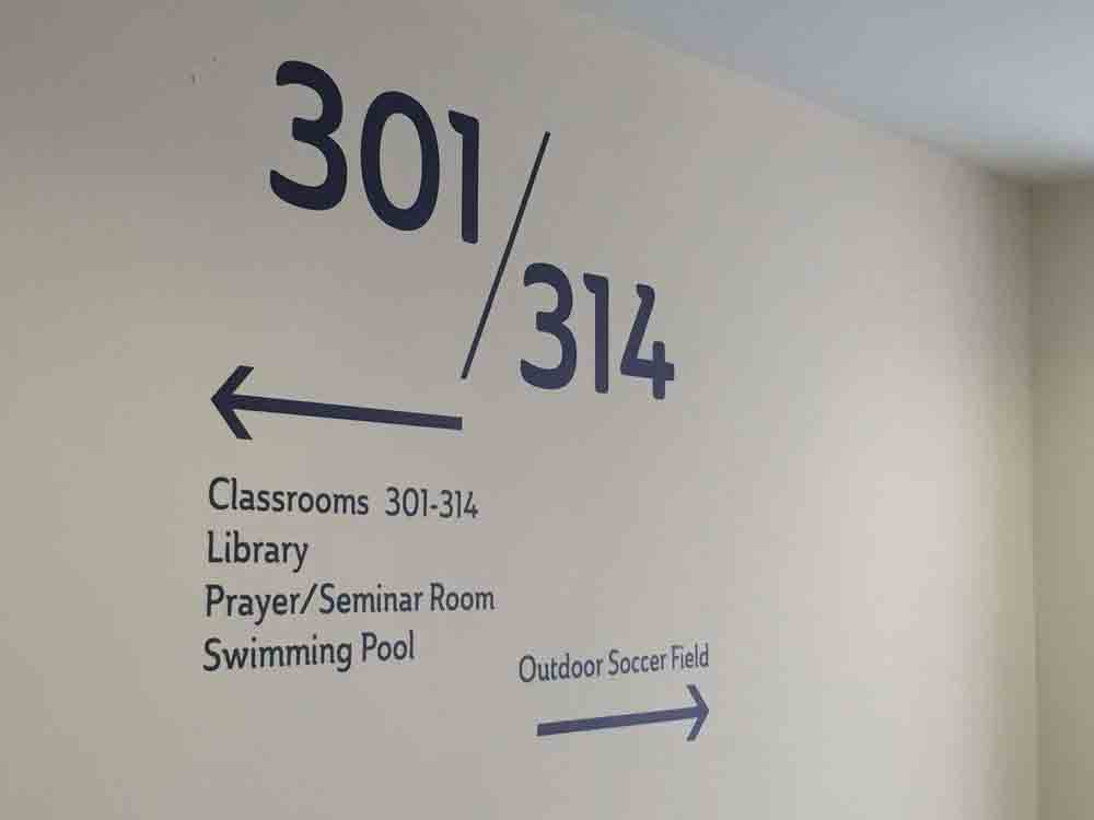Wayfinding Sticker