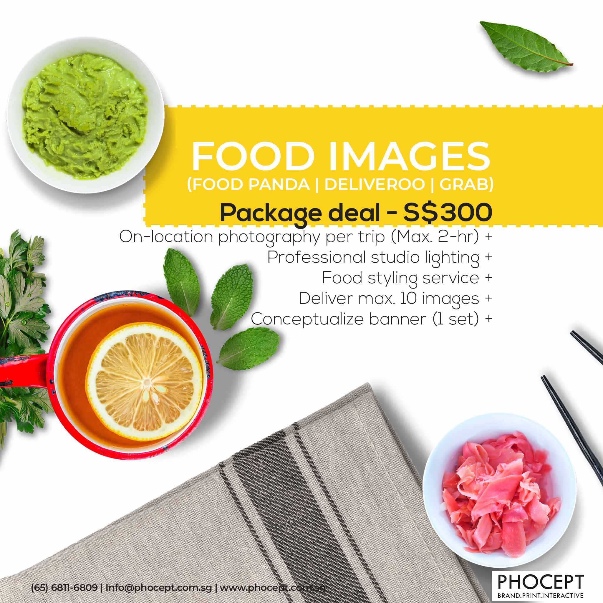 10 Online Platform ecommerce Food Photography by Phocept