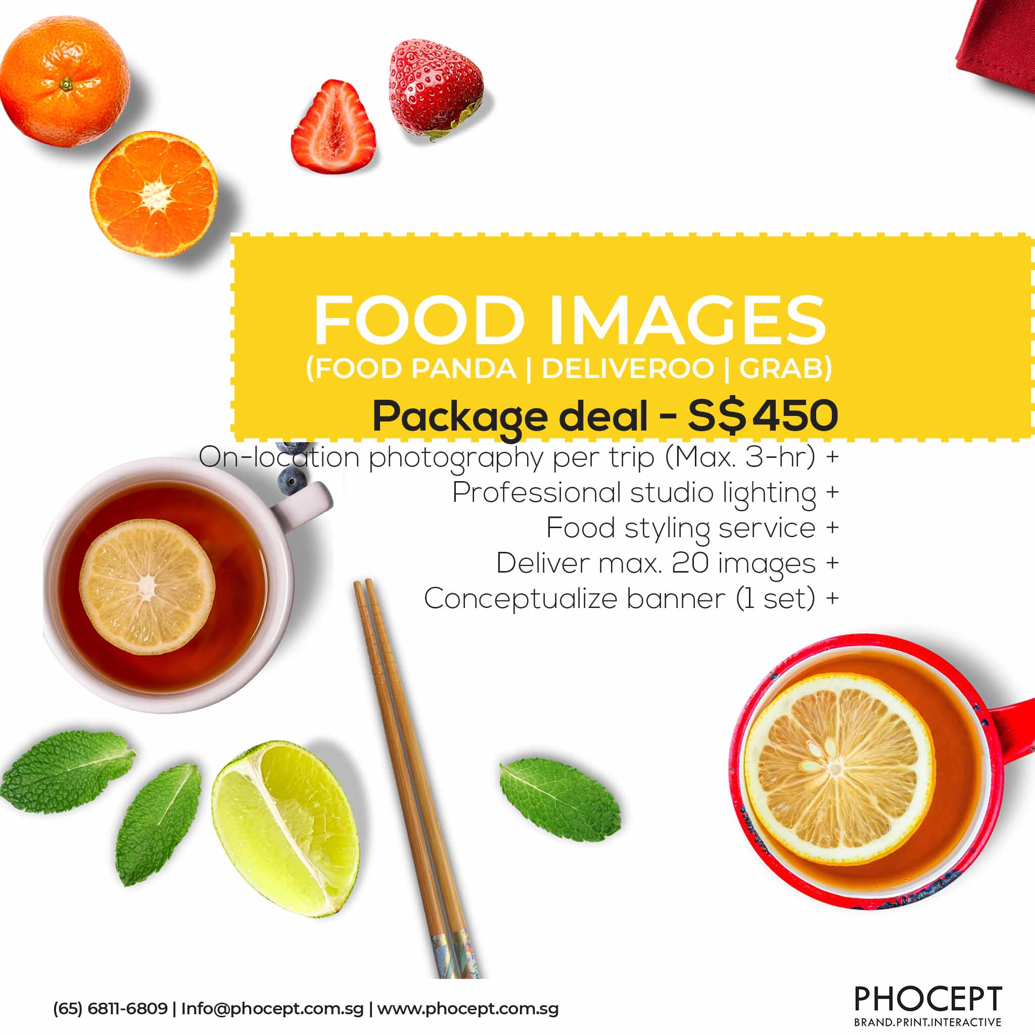 20 Online Platform ecommerce Food Photography by Phocept