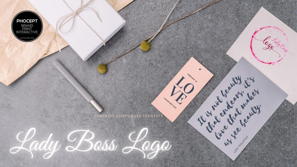 Lady Boss Logo Creation